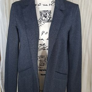 TopShop gray knit Blazer you will live in!
